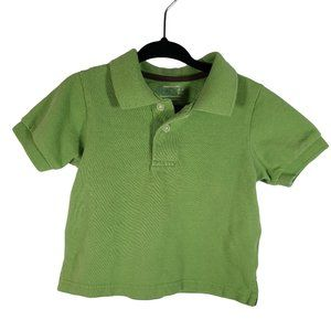 🍒3/$20🍒 1989 PLACE Green Short Sleeve Polo 6-9m